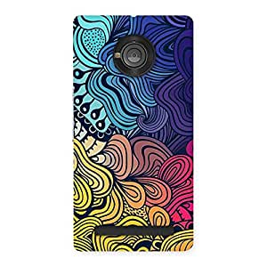 Neo World Abstract Art Back Case Cover for Yu Yunique