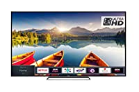 Toshiba 75U6863DB 75-Inch Smart 4K Ultra-HD HDR LED TV with Freeview Play - Chrome Black (2018 Model)
