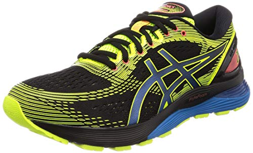 ASICS Gel-Nimbus 21 SP, Chaussures de Running Compétition Homme, Multicolore (Black/Safety Yellow 001), 48 EU