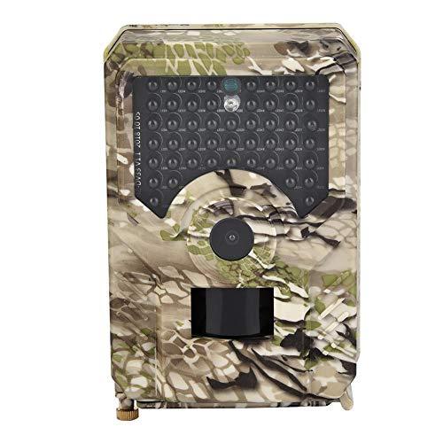 Bnineteenteam Rückfahrkamera, 1080P 12MP wasserdichte Camouflage-Jagdkamera mit Nachtsicht für die Überwachung von Wildtieren inländischer Sicherheit