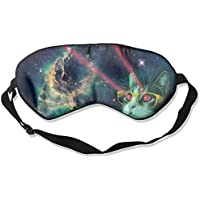 Comfortable Sleep Eyes Masks Funny Space Cat Printed Sleeping Mask For Travelling, Night Noon Nap, Mediation Or... preisvergleich bei billige-tabletten.eu