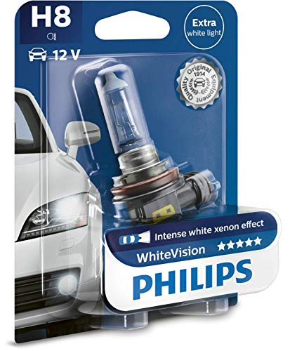 H8 Éclairage 12360whvb1Blister Pour Whitevision Avant Effet De 1 Xénon Philips LMpSUVGqz
