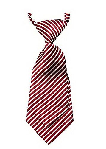 Unique Baby Tie Verstellbare Hals-Bindung Partei-Hochzeits anzeigen Tie- [Rot] (Süße Rote Binder)