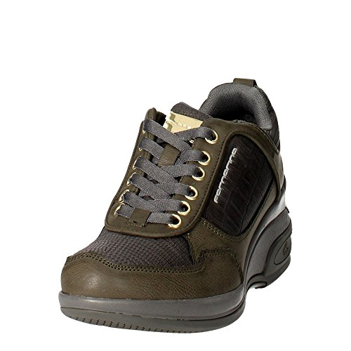 Fornarina PIFDY7615WJD0600 Petite Sneakers Femme Gris