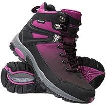 Mountain Warehouse Botas Impermeables Retrieve para Mujer - Botas de Montaña Ligeras, Zapatillas Transpirables para Mujer, Zapatillas de Verano - Calzado para Viajar