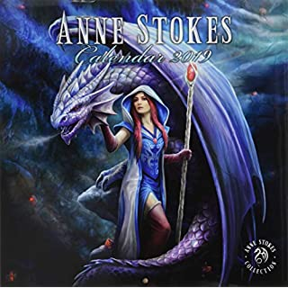 Anne Stokes Officially Licensed 2019 Square Calendar