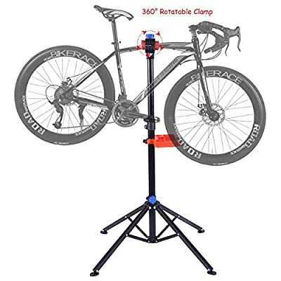 Costway Adjustable Bike Repair Stand Bicycle Workstand Maintenance Mechanic Rack from Costway