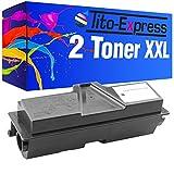 2 Toner XXL Schwarz für Kyocera Mita TK-170 FS-1320 FS-1320D FS-1320DN 16.000 Seiten PlatinumSerie