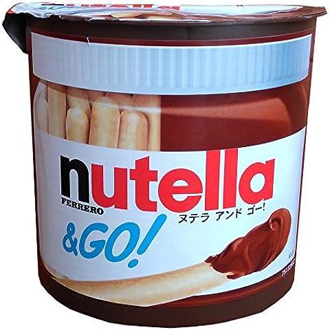 Ferrero Nutella & Go (crema de avellana y la barra de pan)