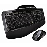 Logitech Wireless Desktop MK710 (QWERTY, Pan Nordic Tastaturlayout)