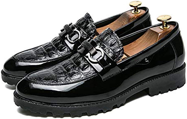 Scarpe da Uomo Oxford Scarpe comode Punta rossoonda Non scivoloso e Resistente all'Usura Mocassino     Acquista online    Uomini/Donne Scarpa
