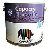 Caparol Capacryl PU-Satin hochwertiger, PU verstärkter Acryllack 0,750 L