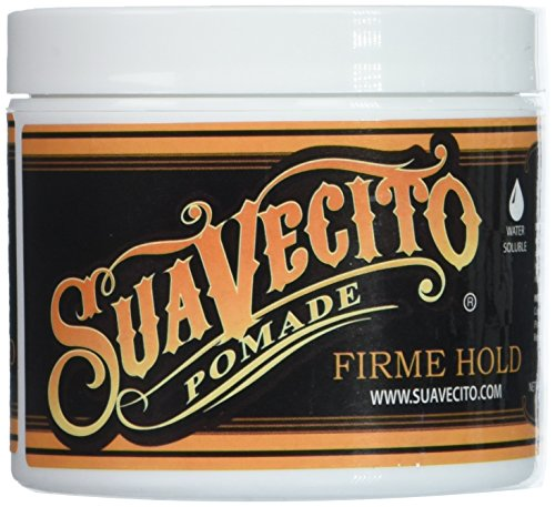 Suavecito Pomade Firme/Strong Hold 4 oz. (pack of 3) by Suavecito Pomade