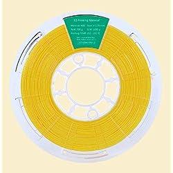 Filamento ABS 1000g 1,75mm para impresoras 3D (Amarillo)