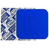 Blue Lion First Aid Pflaster, quadratisch, 3,8 cm, Metall, detektierbar