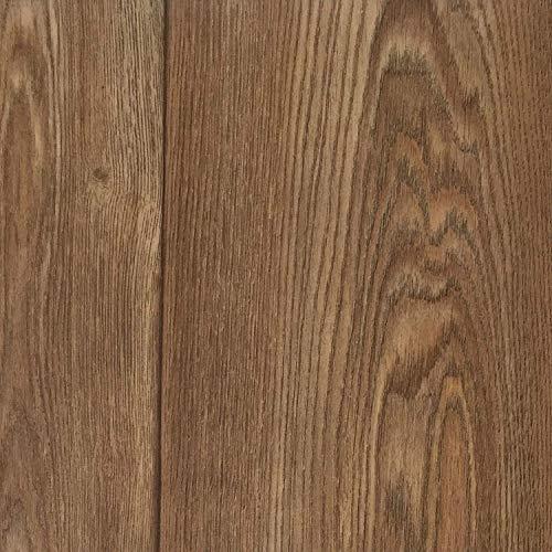 PVC Vinyl-Bodenbelag | Muster | in Walnuss Optik | CV-Belag im Landhausdielen-Stil | PVC-Belag in verschiedenen Maßen verfügbar | CV-Boden wird in benötigter Größe als Meterware geliefert |