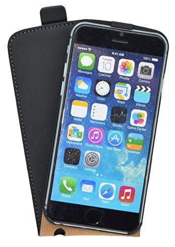 iPhone 6/6S (4.7)/à rabat premium noir