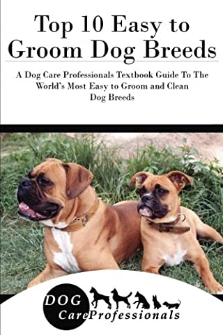 Top 10 Easy to Groom Dog Breeds: A Dog Care Professionals Textbook Guide To The World's Most Easy to Groom and Clean Dog Breeds