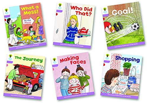Oxford Reading Tree: Level 1+: More Patterned Stories: Pack of 6