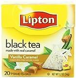 Lipton Schwarztee, Vanilla Caramel Pyramid Tee, Premium, 20 Stück Box, Garten, Rasen, Instandhaltung