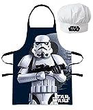 Star Wars Troopers (101291) Niños Conjunto de cocinero Delantal de cocina y Gorro de chef, 2 piezas