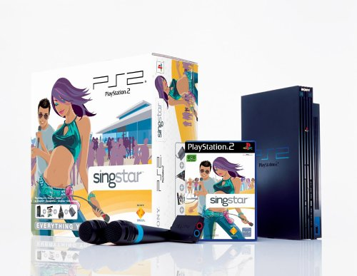 Playstation 2 - PS2 Konsole inkl. SingStar (Ps2 Video Game Bundle)
