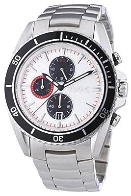 Michael Kors MK8339 - Reloj de cuarzo para hombre, con correa de acero inoxidable, color plateado
