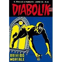 DIABOLIK (160): Brivido mortale (Italian Edition)