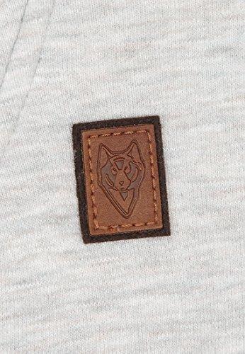 Naketano Male Sweatshirt Congenialer Pimmel III Stone Grey Melange