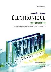 Electronique première année BTS électronique, DUT génie électrique, licence EEA : Cours et exercices