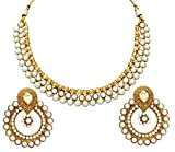 Satyam Jewellery Nx Antique Pearl Jewellery Necklace Set For Women (Wedding Season)
