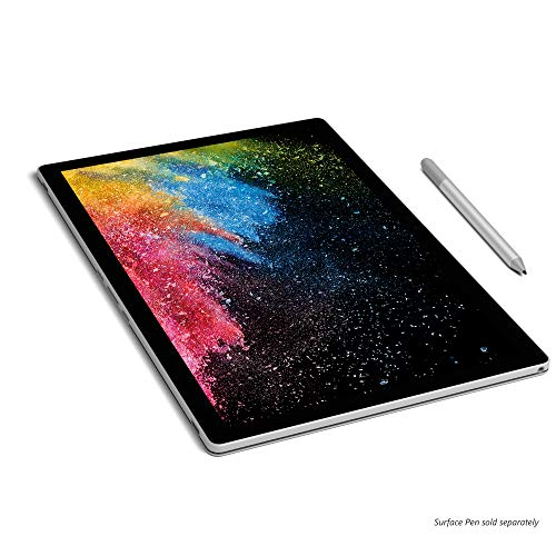 Microsoft Surface Book 2 Intel Core i5 7th Gen 13.5 inch Touchscreen 2-in-1 Laptop (8GB/256GB/Windows 10 Pro/Integrated Graphics/Platinum/1.533kg), 1832