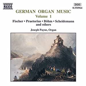 Vol. 1-German Organ Music