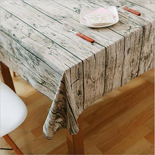 Lo stile pastorale Tovaglie Retro Grana del legno creativo panno di tela Caffè Panno , 60*60