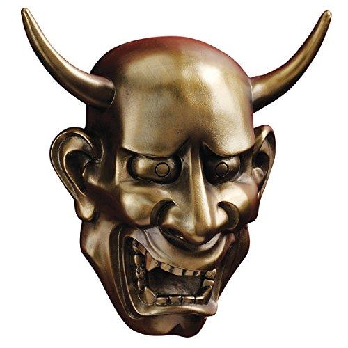 Design Toscano Noh Hannya-Dämonenmaske: Wandfiguren