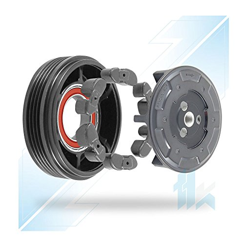 Preisvergleich Produktbild Klimakompressor Kupplungssatz passend für 5-(E60); 7-(E65/66) M54, M57 DENSO 7SEU17C 4PK (PV4) 100,00 mm
