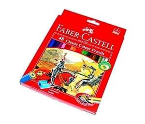 RCECHO® Faber Castell Crayons couleur classique 48 115858 PB653 avec RCECHO® Version Complète Apps Édition
