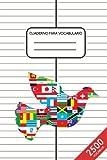 Cuaderno para Vocabulario: A5 | 2500 vocablos | 100 páginas de líneas | 2 columnas