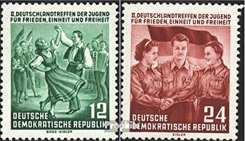 DDR 428-429 (complète.Edition.) 1954 (Timbres Rencontre Allemagne Le Jeunesse (Timbres 1954 pour Les collectionneurs) B07DWHZ3XM 95733c