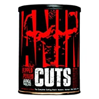 Universal Nutrition Animal Cuts – All-in-one Complete Fat Burner Supplement with Thermogenic and Metabolism Support - Energy Booster, Raspberry Ketones and Thyroid Complex – 42 Packs