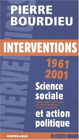 Interventions politiques 1961-2001