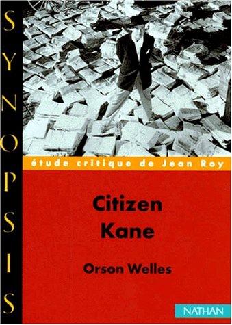 Citizen Kane, Orson Welles