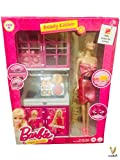 Best Barbie Kitchen Playsets - Barbie World Dream House kitchen Set By Cora,Barbie Review