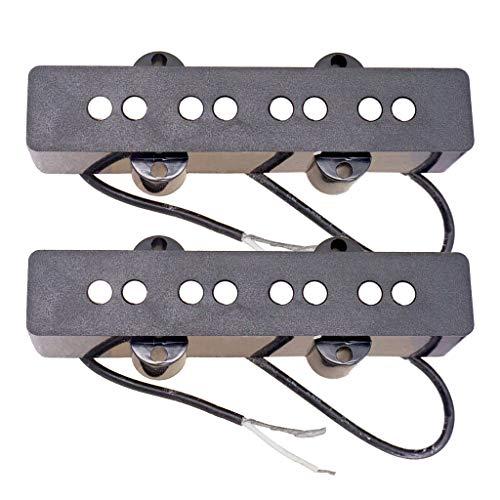 H HILABEE 2 x Dual Coil Tonabnehmer Pickup für Akustikgitarre Westerngitarre Electric Guitar