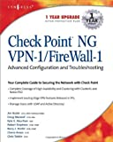 Check Point NG VPN-1/Firewall-1: Advanced Configuration and Troubleshooting 1st edition by Barry J. Stiefel, Doug Maxwell, Kyle X. Hourihan, Cherie Amo (2003) Taschenbuch