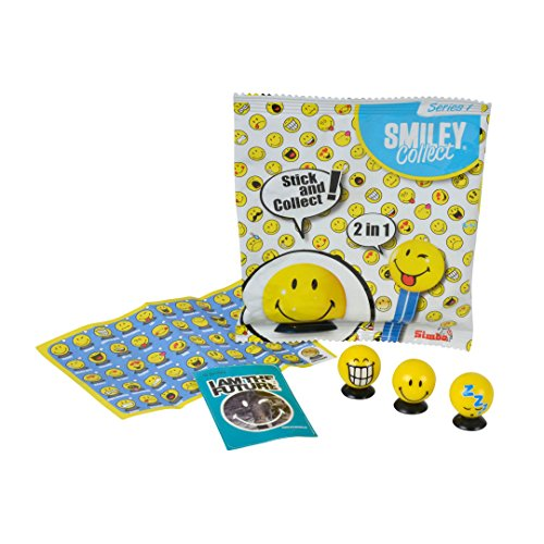 Simba 109363047 Smiley Sammelfiguren, 50-sort, unisex-child