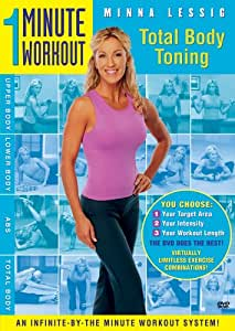 Minna Lessig - Total Body Toning - 1 Minute Workout [DVD] [2006] [Region 1] [US Import] [NTSC]