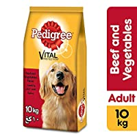 Pedigree Beef & Vegetables, Dry Dog Food (Adult), 10kg