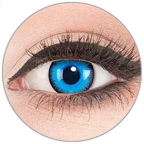 Farbige Kontaktlinsen zu Fasching Karneval Halloween - Topqualität -