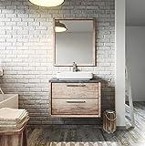 Badezimmer Badmöbel Indiana 70 cm nature wood - Unterschrank Schrank Waschbecken Waschtisch